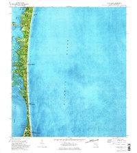 Cocoa Beach Florida Map.Usgs 1 24000 Scale Quadrangle For Cocoa Beach Fl 1976 Sciencebase