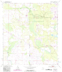 Download a high-resolution, GPS-compatible USGS topo map for Crewsville, FL (1987 edition)