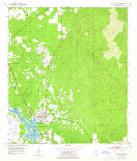 Map Of Crystal River Florida.Usgs 1 24000 Scale Quadrangle For Crystal River Fl 1954