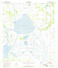 Download a high-resolution, GPS-compatible USGS topo map for Cypress Lake, FL (1968 edition)
