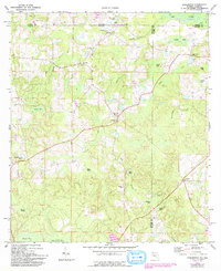 Download a high-resolution, GPS-compatible USGS topo map for Darlington, FL (1993 edition)