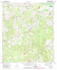 Download a high-resolution, GPS-compatible USGS topo map for Darlington, FL (1988 edition)
