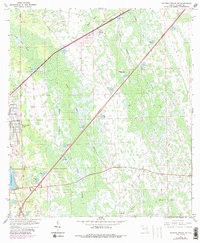 Download a high-resolution, GPS-compatible USGS topo map for Daytona Beach SW, FL (1988 edition)