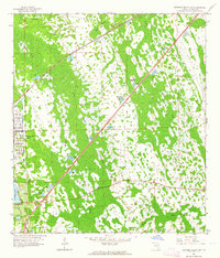 Download a high-resolution, GPS-compatible USGS topo map for Daytona Beach SW, FL (1964 edition)