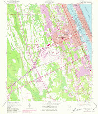 Download a high-resolution, GPS-compatible USGS topo map for Daytona Beach, FL (1981 edition)