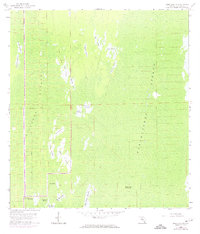 Download a high-resolution, GPS-compatible USGS topo map for Deep Lake SW, FL (1974 edition)