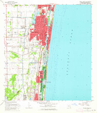 Download a high-resolution, GPS-compatible USGS topo map for Delray Beach, FL (1964 edition)