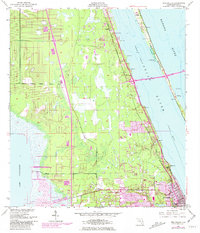 Download a high-resolution, GPS-compatible USGS topo map for Eau Gallie, FL (1981 edition)