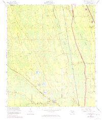 Download a high-resolution, GPS-compatible USGS topo map for Espanola, FL (1972 edition)
