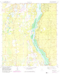 Download a high-resolution, GPS-compatible USGS topo map for Eureka Dam, FL (1982 edition)