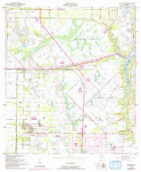 Download a high-resolution, GPS-compatible USGS topo map for Fellsmere, FL (1992 edition)