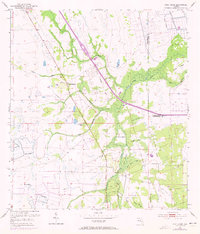 Download a high-resolution, GPS-compatible USGS topo map for Fort Drum, FL (1973 edition)