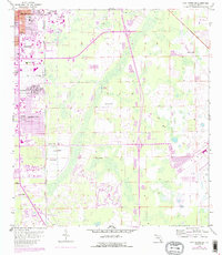 Download a high-resolution, GPS-compatible USGS topo map for Fort Myers SE, FL (1988 edition)