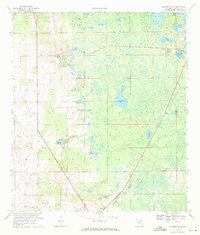Download a high-resolution, GPS-compatible USGS topo map for Fourmile Lake, FL (1971 edition)