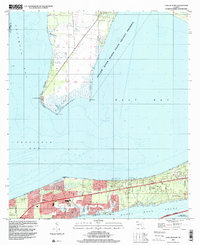 Download a high-resolution, GPS-compatible USGS topo map for Garcon Point, FL (2000 edition)
