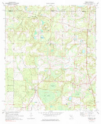 Download a high-resolution, GPS-compatible USGS topo map for Gaskin, FL (1985 edition)