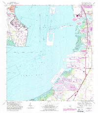 Download a high-resolution, GPS-compatible USGS topo map for Gibsonton, FL (1988 edition)