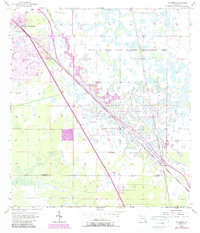 Download a high-resolution, GPS-compatible USGS topo map for Gilchrist, FL (1987 edition)