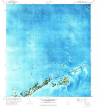 Download a high-resolution, GPS-compatible USGS topo map for Grassy Key, FL (1973 edition)