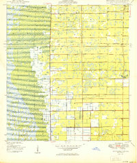 Download a high-resolution, GPS-compatible USGS topo map for Greenacres City, FL (1950 edition)
