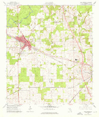 Download a high-resolution, GPS-compatible USGS topo map for High Springs, FL (1976 edition)