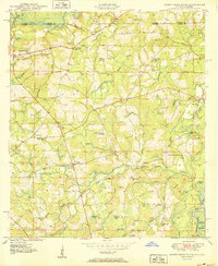 Download a high-resolution, GPS-compatible USGS topo map for Hobbs Cross Roads, FL (1950 edition)