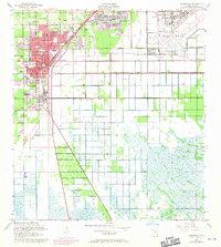 Map Of Homestead Florida.Usgs 1 24000 Scale Quadrangle For Homestead Fl 1956 Sciencebase