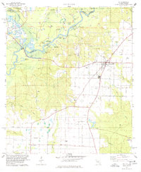 Download a high-resolution, GPS-compatible USGS topo map for Jay, FL (1978 edition)