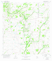 Download a high-resolution, GPS-compatible USGS topo map for Keentown, FL (1973 edition)
