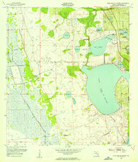 Download a high-resolution, GPS-compatible USGS topo map for Lake June In Winter, FL (1954 edition)