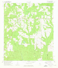 Download a high-resolution, GPS-compatible USGS topo map for Laurel Hill, FL (1975 edition)