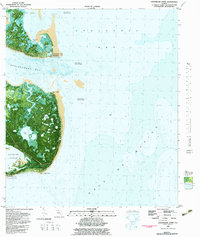 Download a high-resolution, GPS-compatible USGS topo map for Lighthouse Point, FL (1982 edition)