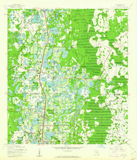 Download a high-resolution, GPS-compatible USGS topo map for Lutz, FL (1961 edition)