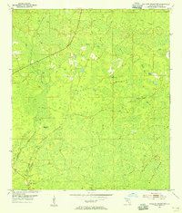 Download a high-resolution, GPS-compatible USGS topo map for Mallory Swamp NW, FL (1955 edition)