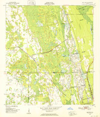 Download a high-resolution, GPS-compatible USGS topo map for Maytown, FL (1952 edition)