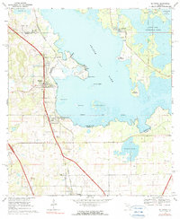Download a high-resolution, GPS-compatible USGS topo map for McIntosh, FL (1990 edition)