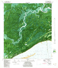 Download a high-resolution, GPS-compatible USGS topo map for McIntyre, FL (1982 edition)
