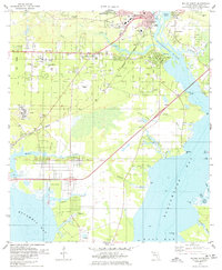 Download a high-resolution, GPS-compatible USGS topo map for Milton South, FL (1978 edition)