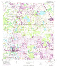 Download a high-resolution, GPS-compatible USGS topo map for Mulberry, FL (1973 edition)
