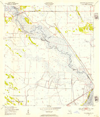 Download a high-resolution, GPS-compatible USGS topo map for Okeechobee NW, FL (1954 edition)