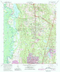 Download a high-resolution, GPS-compatible USGS topo map for Orange City, FL (1984 edition)