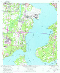 Download a high-resolution, GPS-compatible USGS topo map for Orange Park, FL (1978 edition)