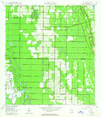 Download a high-resolution, GPS-compatible USGS topo map for Oslo, FL (1964 edition)