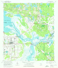 Download a high-resolution, GPS-compatible USGS topo map for Osteen, FL (1972 edition)