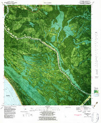 Download a high-resolution, GPS-compatible USGS topo map for Overstreet, FL (1983 edition)