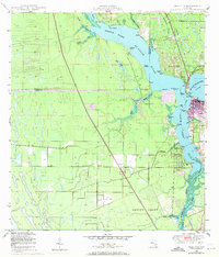 Download a high-resolution, GPS-compatible USGS topo map for Palm City, FL (1971 edition)