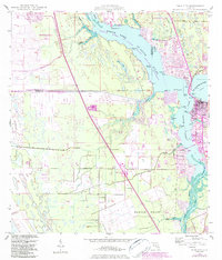 Download a high-resolution, GPS-compatible USGS topo map for Palm City, FL (1984 edition)