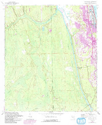 Download a high-resolution, GPS-compatible USGS topo map for Palm Valley, FL (1992 edition)