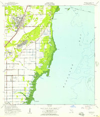 Download a high-resolution, GPS-compatible USGS topo map for Perrine, FL (1957 edition)
