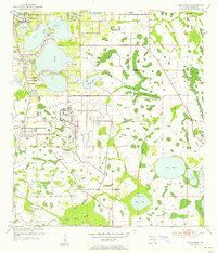 Download a high-resolution, GPS-compatible USGS topo map for Pine Castle, FL (1955 edition)